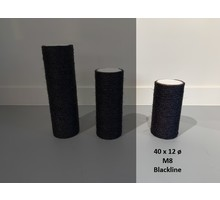 RHRQuality Sisalstamm 40x12cm M8 BLACKLINE