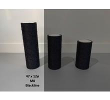 RHRQuality Sisalstamm 47x12Ø M8 BLACKLINE