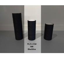 RHRQuality Sisalstamm 41,5x12Ø M8 BLACKLINE