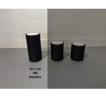 RHRQuality Sisalstamm 30x12Ø M8 BLACKLINE