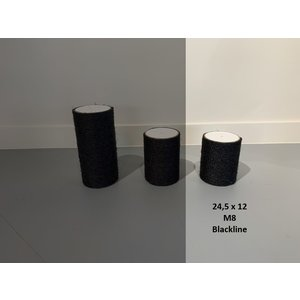 RHRQuality Sisalpaal 24,5x12cm M8 BLACKLINE