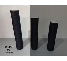 RHRQuality Sisalstamm 82x15Ø M8 BLACKLINE