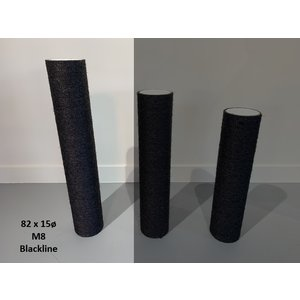 RHRQuality Sisalpole 82X15cm M8 BLACKLINE