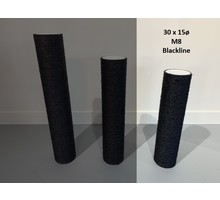 RHRQuality Sisalpaal 30x15Ø M8  BLACKLINE