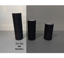 RHRQuality Sisalstamm 25x15cm M8 BLACKLINE