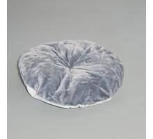 RHRQuality Cushion - Round Lying Place 60cm Light Grey