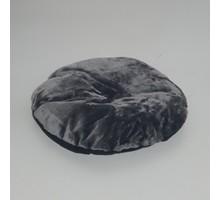RHRQuality Kussen - Rond ligbak 60cm Dark Grey