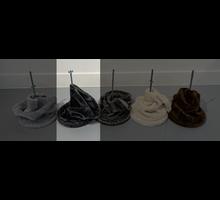RHRQuality Deckenspanner (20Ø Sisalpalen) Dark Grey