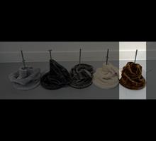 RHRQuality Deckenspanner (20cm Sisalpalen) Brown