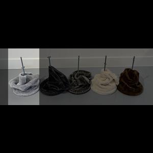 RHRQuality Plafondspanner (20cm sisalpalen) Light Grey