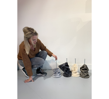 RHRQuality Plafondspanner ( 12Ø  tot 15Ø sisalpalen) Dark Grey