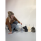 RHRQuality Deckenspanner (12cm bis 15cm Sisalstämme) Light Grey