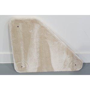 RHRQuality Bovenplaat driehoek - Corner Coon Creme