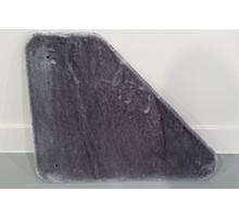 RHRQuality Bovenplaat driehoek - Corner Coon - Light Grey