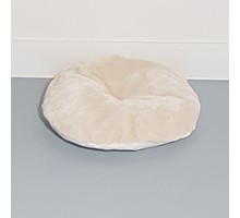 RHRQuality Kussen - ronde ligbak 50cm cm - Creme