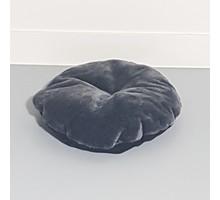 RHRQuality Kussen - ronde ligbak 50cm cm - Dark Grey