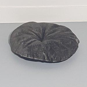RHRQuality Kussen - ronde ligbak 50Ø cm -Taupe