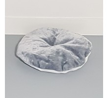 RHRQuality Kussen - ronde ligbak 50cm cm - Light Grey