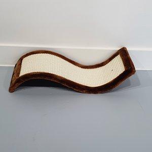 RHRQuality Curved Scratching Board Kilimandjaro - Brown