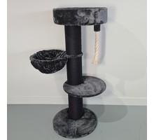 RHRQuality Krabpaal Maine Coon Sleeper de Luxe Blackline Dark Grey