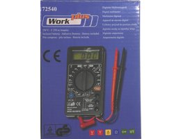 Work-Plus Digitale Multimeter 72540
