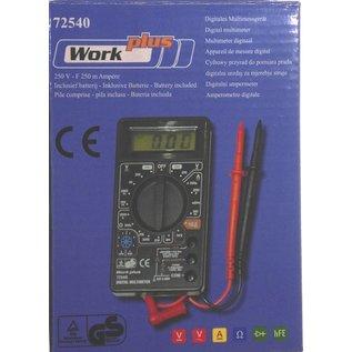Work-Plus Digitale Multimeter 72540