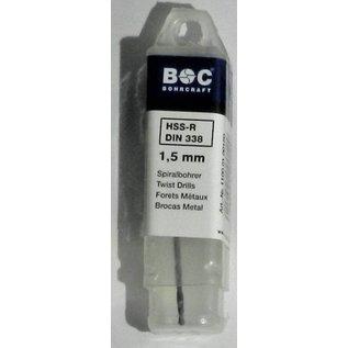 BOC spiraal boren HSS-R BOC
