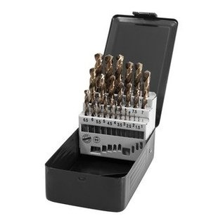 HSS-Tools GmbH spiraalboren HSS-Co 25delig 1-13mm