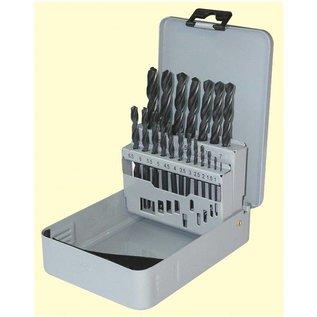 HSS-Tools GmbH spiraalborenset 19 dlg in metalendoos