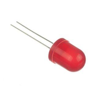 led lampje rood 10mm (10 stuks)