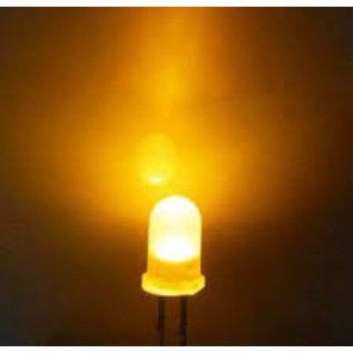 led lampje helder amber 2,5