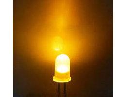 led lampje helder wit 1,5-3v (10 stuks)