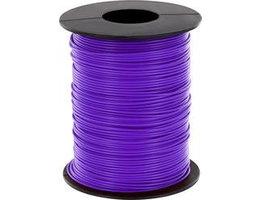 Schakeldraad Violet/paars 100 meter