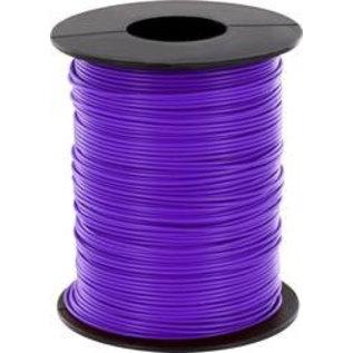 Schakeldraad 0,22mm 100 meter Violet/paars