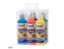 CREALL-3D Liner assorti 6x 80ml
