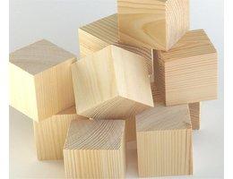 Greenbasic Houten blokken 40 xx 40 x40