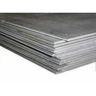 Papier en pennenhouder staalpl thermisch verz 500x100x0,8