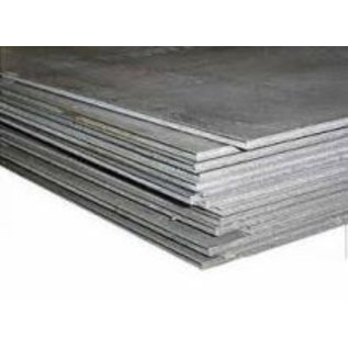 Schaaltje metaalplaat 75x75x0,5