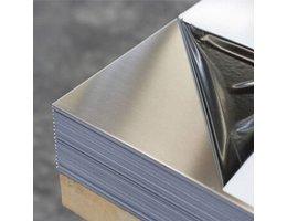 Aluminium plaat al99,5 2000 x 1000 x 2,5 mm