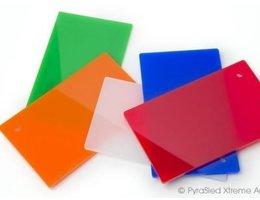 Vikureen Vikureen PS Plaat diverse kleuren 1,5mm op maat geknipt