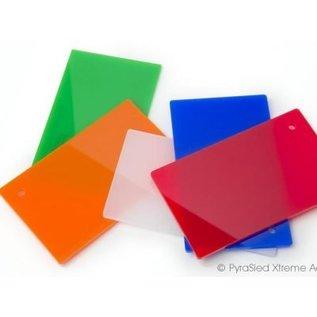 Vikureen Vikureen PS Plaat diverse kleuren 2mm maat geknipt