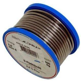 Soldeertin: massief  Ø3mm 40/60 500 gram