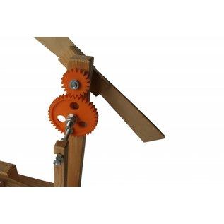 Wip op windkracht