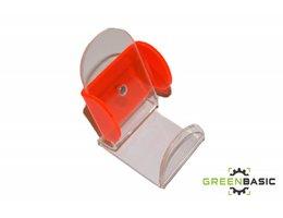 GSM-houder PMMA helder 180x50x3mm