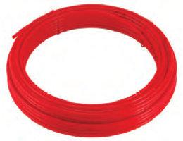 Tricoflex Rubberslang 2x4 mm x 25m Rood