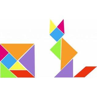 Tangram polystyrenen