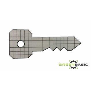 Sleutel Forex 100x40x3