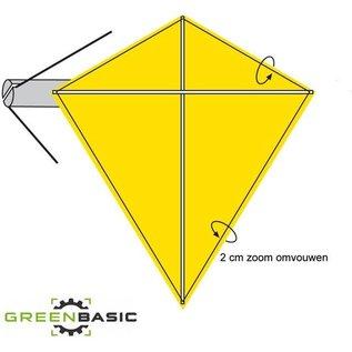 Green Basic Vlieger - de lucht in