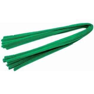 Chenilledraad chenilledraad groen 8mm x 30 cm 10 stuks