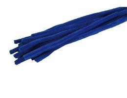 Chenilledraad Chenilledraad blauw 8mm x 30 cm 10 stuks